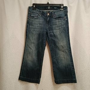 7 For All Mankind Dojo crop Jean